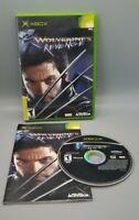 X2 Wolverine's Revenge Xbox Original Microsoft COMPLETE