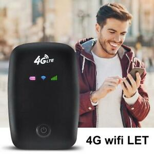 Portable LTE FDD 4G Router Mobile Wifi Hotspot Modem SIM Card Slot Verizon AT&T