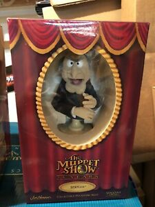 STATLER BUST THE MUPPETS STATUE SIDESHOW BRAND NEW IN THE BOX