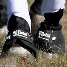 Cashel No-Turn Bell Boots - Black - Size Mini Horse - XXS