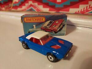 Matchbox Superfast No. 1 Dodge Challenger in Original Box