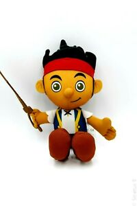 """Fisher Price Jake and the Neverland Pirates 12"""" Talking Plush Toy Disney Channel"""