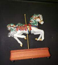 "Heritage House Carousel Horse Music Box ""Jingle Bells """