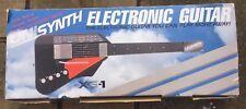 Vintage Rare Unisynth Electronic Guitar XG-1. 1981 Complete, Original Box Japan