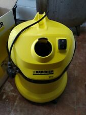 Kärcher WD2 Wet and Dry Multi-purpose Vacuum Cleaner - Yellow