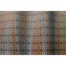 Lenticular Fabric Sheet Brown Rattlesnake Snakeskin  Color-Changing t #SH-R304#