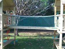 Rope Bridge 8ftx1.5ft Includes Timbers Netting Cargo Net Climbing Frame