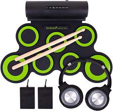 Electronic Drum Set Musical Instrument Beginner Practice Pad Kit Kids s