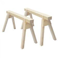 1 Paar Profi-Holzbock Zimmererbock Arbeitsbock Stützbock Gerüstbock Holzböcke