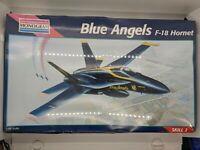 Monogram Air Force Blue Angels F-18 Hornet 1:48 scale 1995 Model Kit NIB - FAST!
