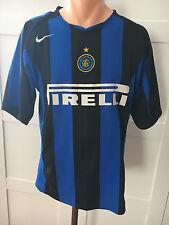 Inter Milan 2004/2005 Nike football shirt jersey (M) Looking perfect!