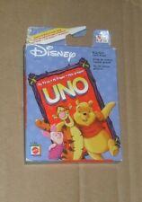disney mattel Uno playing card game