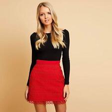 5f75933969 Kookai Bandage Mini Skirt Black Sz 1 Post (e100)