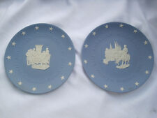 Pair of Wedgwood Collector Plates, American Independence, Declaration/Yorktown