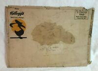 * Early Kellogg's Cereal Battle Creek Michigan Large Mailing Envelope