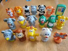 VTech Smartville Lot of 18 Figures Animal Signs Zoo Train Town Replacement