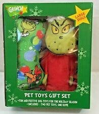 New Kcare The Grinch Pet Toys Gift Set Large Dogs Fun And Festive