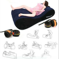 Toughage Position Air Sofa Sleep Love Bed Inflation Cushion Set Free 4pcs cuffs