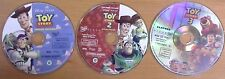 MINT DVD TOY STORY 1 2 3 Trilogy ~ Authentic Region 1 ~ Disney DISCS ONLY ~ Look