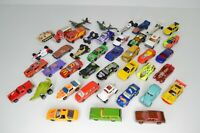 Lot of 42 Diecast Cars Hot Wheels Matchbox 1:64 Scale 1980s 1990s 2000s