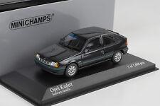 1989 Opel Kadett E 1.8i Dream black schwarz metallic  Minichamps 1:43