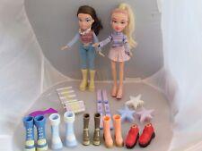 2003 Bratz Wintertime Wonderland Dana, many accessories + Cloe doll
