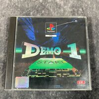Demo One PS1 PlayStation 1 Boxed PAL SCES-00120 Wipeout Loaded Destruction Derby