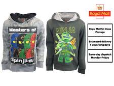 Boys Official Ninjago Lego Hooded Jumper Hoodie Childrens Kids Age 4 6 7 8 9 10