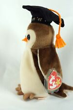 """Retired """"WISE"""" Class of 98 Owl - Ty Beanie Baby Babies with Errors"""