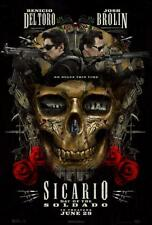 "SICARIO: DAY OF THE SOLDADO - 11.5""x17"" Original Promo Movie Poster MINT 2018"