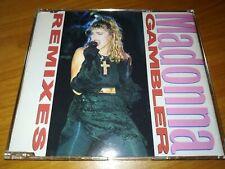 Madonna Gambler remixes  8 tracks Dj Cd maxi Single