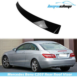 #AU Fit For Mercedes Benz E-class W207/C207 Coupe Rear Roof Spoiler Painted#040