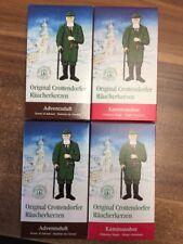 4 Pakete Crottendorfer Räucherkerzen Advent + Tannenduft 4 x 24 Kegel = 96 Kegel