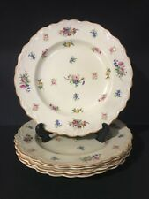 "SET OF 5 10"" DINNER PLATES English Crown Ducal Ware ""Pinafore"" (2107) Pattern"