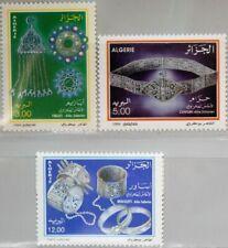 ALGERIA ALGERIEN 1994 1116-18 1019-21 Schmuck Jewelry Silberschmuck Handwerk MNH