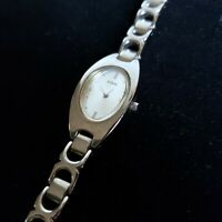 Womens GUESS Watch Bracelet Pearlescent Face G56025L Ladies Fashion