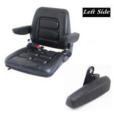 Left Side Armrest Centre Console Arm Rest - Black PU foam Caravan Seat Parts