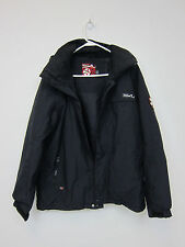Quicksilver Regular Fit Insulated Jacket - Mens XS - Black - Preowned