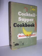 Cocktail-Supper Cookbook by Marion W. Flexner (1955,HCDJ, Signed)
