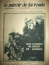 125 AUTOMOBILE TOURISME TARN GARONNE B QUERCY AGENAIS LE MIROIR DE LA ROUTE 1930