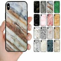 For Samsung Galaxy Series - Marble Print Pattern Back Case Mobile Phone Cover #1