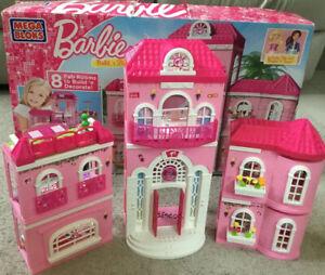 Mega Bloks Barbie Build 'n' Style Luxury Mansion 80229