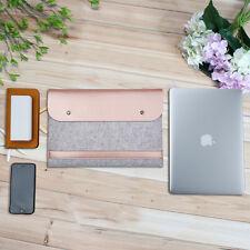 "MacBook Sleeve Filz Ledertasche Laptop Hülle Case Für Apple Macbook Air Pro13.3"""