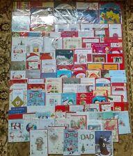 110+ Wholesale New Sealed Job Lot Mixed Christmas Greetings Cards Xmas Joblot