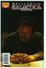 Battlestar Galactica Origins 7 - Photo Cover of Adama (Edward James Olmos), NM
