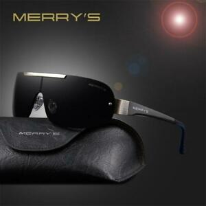 MERRY'S Fashion Classic Polarized Sunglasses Men Brand Designer HD Goggle Men's