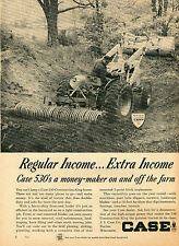 1965 Print Ad of Case 530 Construction King Farm Tractor Front End Loader