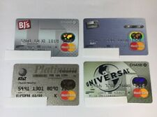 4 Expired Credit Cards For Collectors - MasterCard Collection Lot (7081)