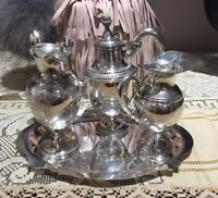4 Piece Sterling Silver Wine Service