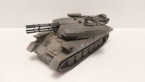 USSR Russian Soviet cannon ZSU-23-4 Shilka SMM upgraded Afghanistan 1/43